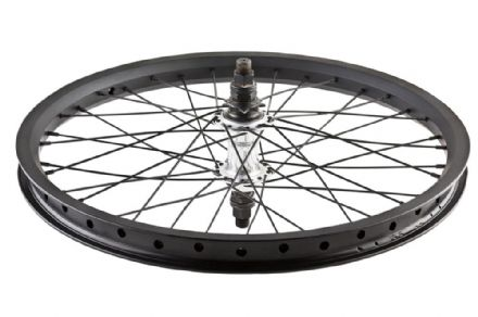 Stranger RHD Crux V2 Cassette Rear Wheel - Black Hub With Black XL Rim 9 Tooth